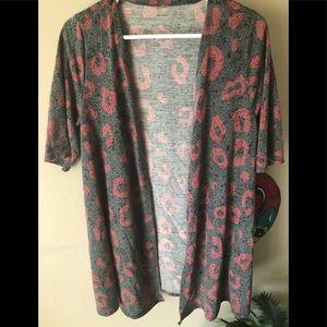 Multi-Colored Kimono with pockets